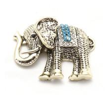 """Магнит """"Слон"""" с цветными стразами"""