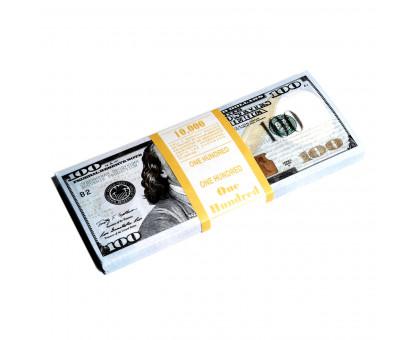 Сувенирные купюры похожие на 100 долларов США