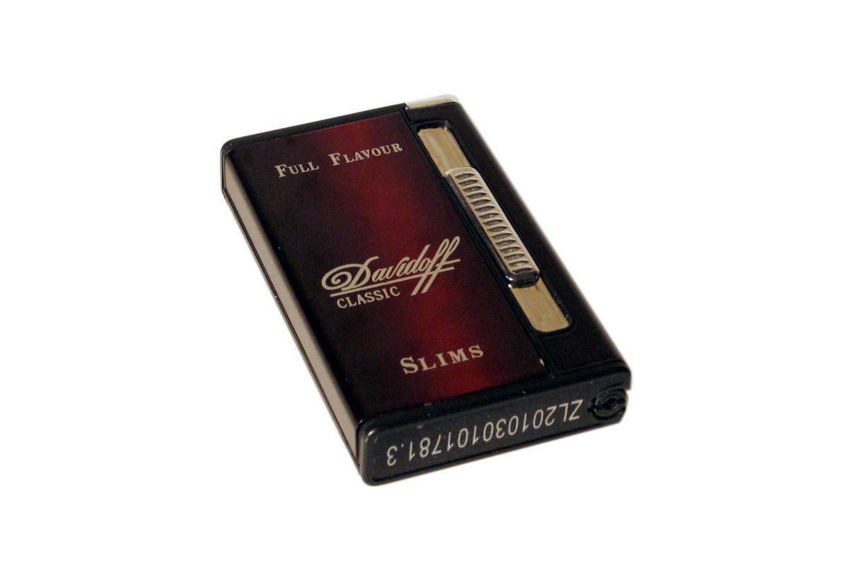 Купить портсигар с автоматической подачей сигарет и зажигалкой табак для сигарет опт