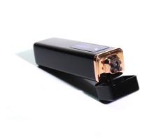 Зажигалка с USB-подзарядкой, 4Х, черная, электродуга