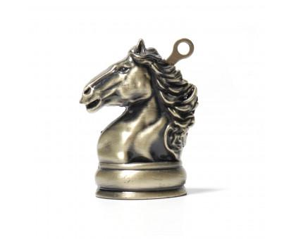"""Газовая зажигалка """"Лошадь"""", 6см"""