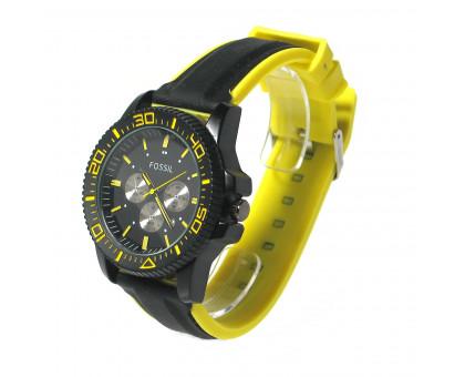 Часы наручные Fossil на силиконовом браслете
