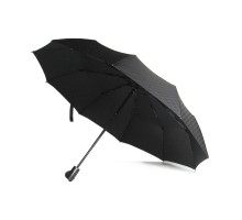 Зонт мужской Dolphin, автомат. Рисунок - черные кубики