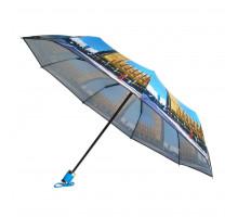 Женский зонт YuzonT, автомат. В коробке разные рисунки городов мира.