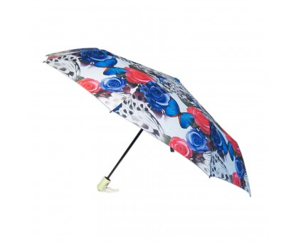 Женский зонт Diniya, автомат. 6 рисунков в коробке.