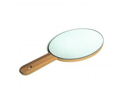 Зеркало настольное овальное с ручкой