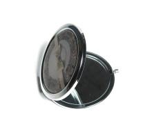 Зеркало круглое карманное раскладушка